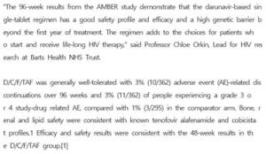 Janssen Presents Positive Long-Term Efficacy and Safety of SYMTUZA(D/C/F/TAF) in Treatment-Naïve Adults with HIV-1